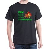 Turkey trot Mens Classic Dark T-Shirts