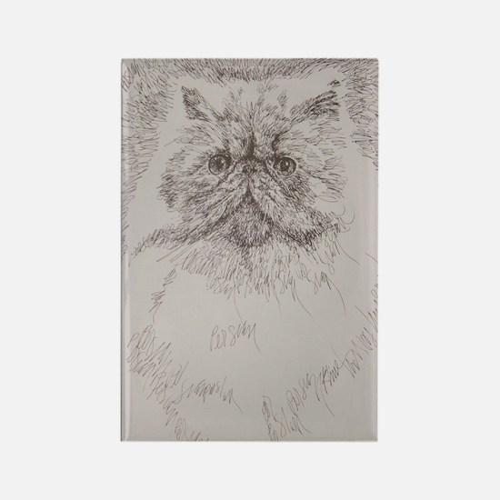 Persian_Cat_Kline Rectangle Magnet