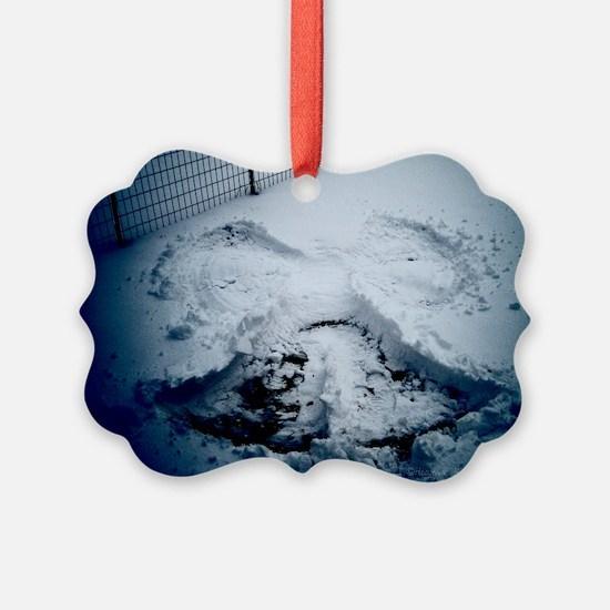 snowangel-watermarked Ornament