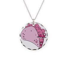 Pink Taco Necklace