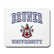 BRUNER University Mousepad