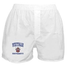 WHITMAN University Boxer Shorts