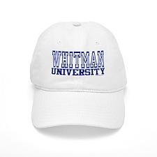 WHITMAN University Baseball Cap