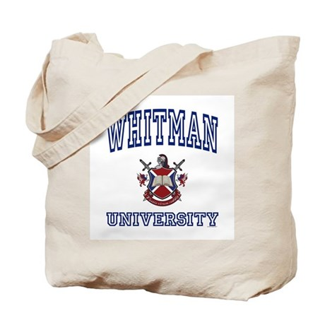 WHITMAN University Tote Bag