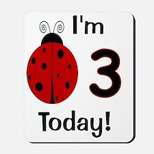 ladybug_im3today Mousepad