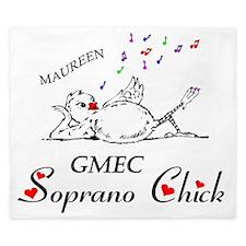 GMEC Soprano chick ver. 2-Maureen copy King Duvet