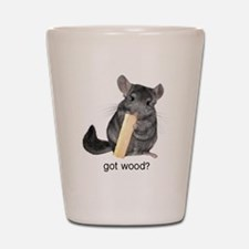 got wood2 Shot Glass