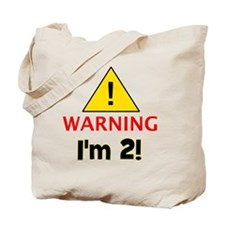 warningim2 Tote Bag