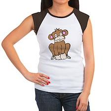 Monkey in Color Women's Cap Sleeve T-Shirt
