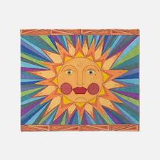 El Sol Throw Blanket