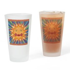 El Sol Drinking Glass