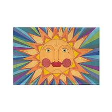 El Sol Rectangle Magnet