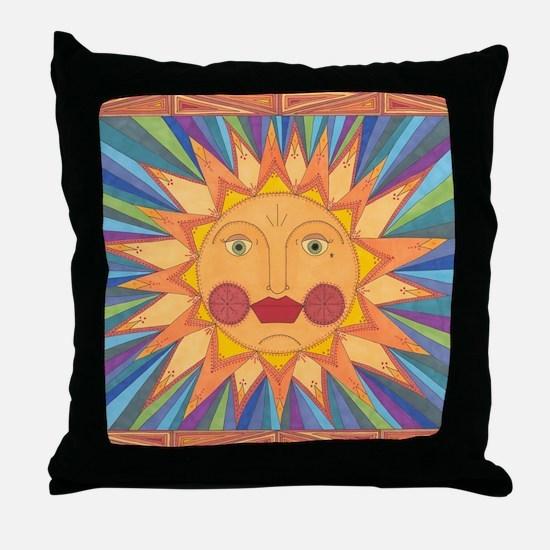 El Sol Throw Pillow