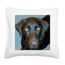 Labrador Retriever Square Canvas Pillow