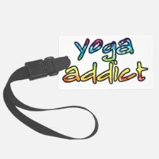 2-yoga-addict Luggage Tag