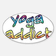 2-yoga-addict Decal