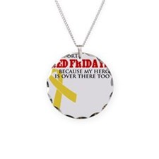 ISupportREdFridays1 Necklace