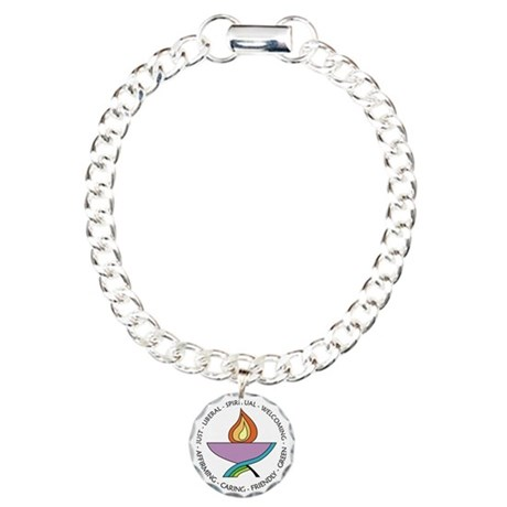 Chalice Product 2 Charm Bracelet, One Charm