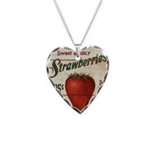 strawberries-posters Necklace