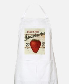 strawberries-posters Apron