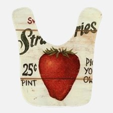 strawberries-posters Bib