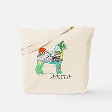 Akita National Treasure (light) Tote Bag