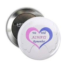 """Cute Twin baby 2.25"""" Button (10 pack)"""