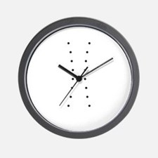 corsetted_full_trans Wall Clock