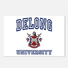 DELONG University Postcards (Package of 8)