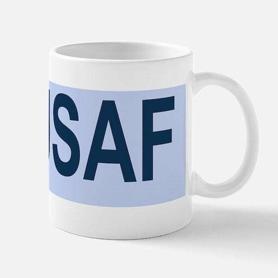USAF-SrA-BSticker Mug