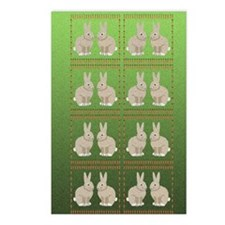 rabbits 5x8_journal copy Postcards (Package of 8)