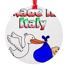 Made In Italy Boy Ornament