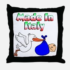 Made In Italy Boy Throw Pillow