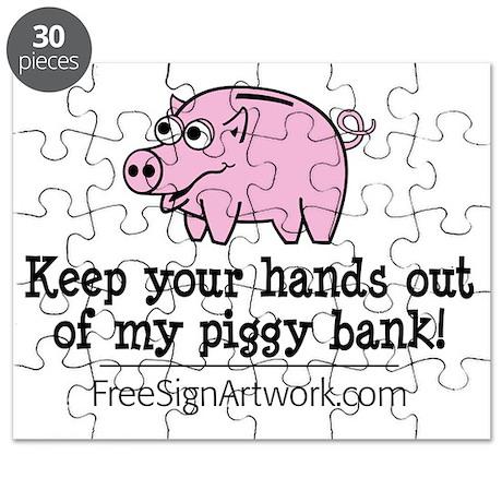 tshirts-freesignart-piggy Puzzle