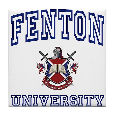 FENTON University Tile Coaster