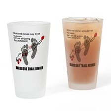 Hardcore Drinking Glass