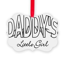 Daddys Little Girl - light Ornament