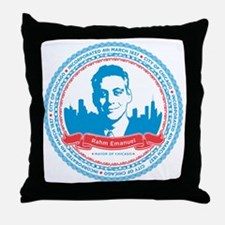 rahm_print_large Throw Pillow