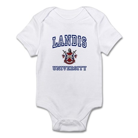 LANDIS University Infant Bodysuit