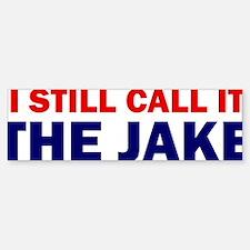 ART THE JAKE Bumper Bumper Sticker