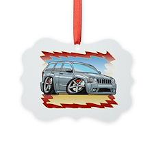 Silver_JeepSRT8 Ornament