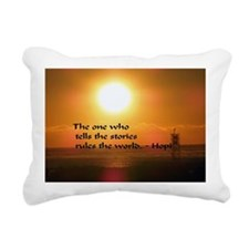 Tell your story Rectangular Canvas Pillow