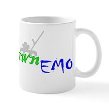 12x12DarkEmoLawn Mug