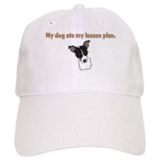 dog ate teachers lesson plan Baseball Cap