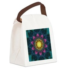 STAR FLOWER Canvas Lunch Bag