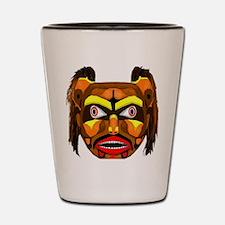 Bear Mask Shot Glass