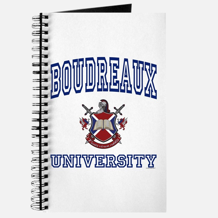 BOUDREAUX University Journal