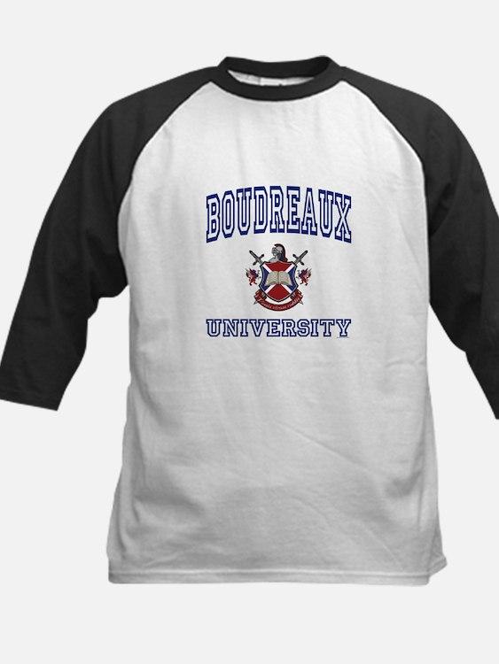 BOUDREAUX University Kids Baseball Jersey