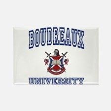 BOUDREAUX University Rectangle Magnet