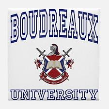 BOUDREAUX University Tile Coaster